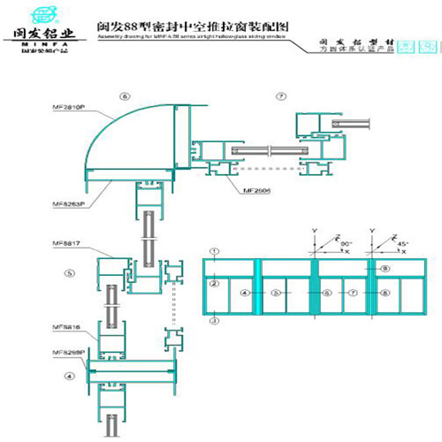 原木屋系统-门窗型材的价格-门窗型材电商-北京米兰店