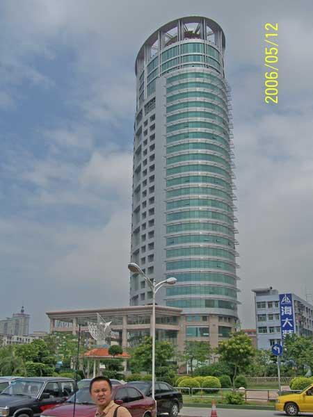 深圳市宝安区公路管理中心大楼玻璃幕墙