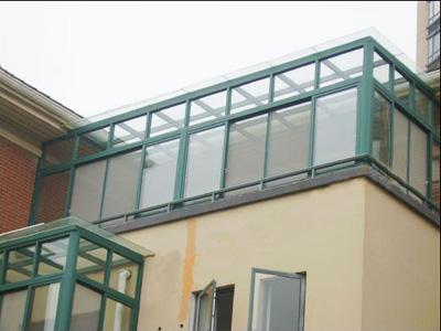 阳光房顶材料