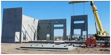 与传统建筑施工方式相比装配式建筑可以提高建设效率